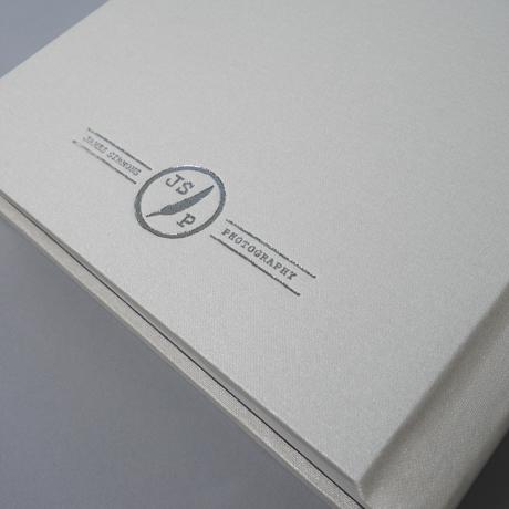 Deluxe Hardcover materials