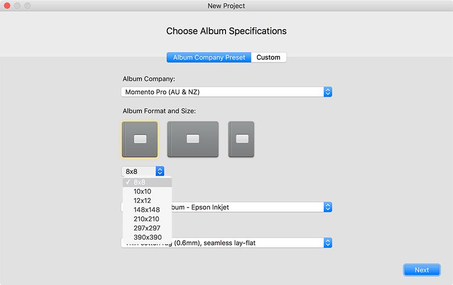 Designing with SmartAlbums